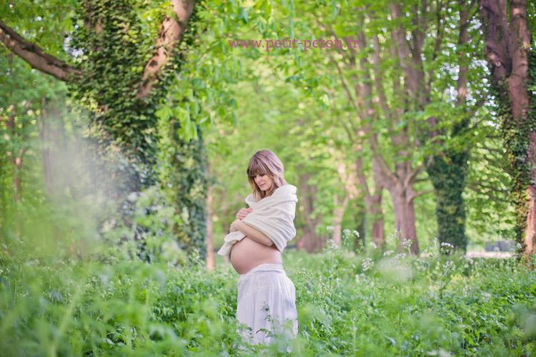 Séance photo maternité Paris avec Violaine - Photographe Paris