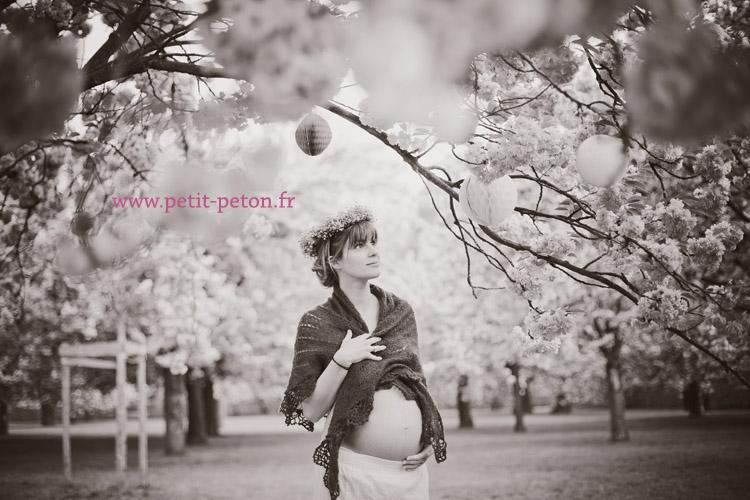 Séance photo maternité par  de sceaux