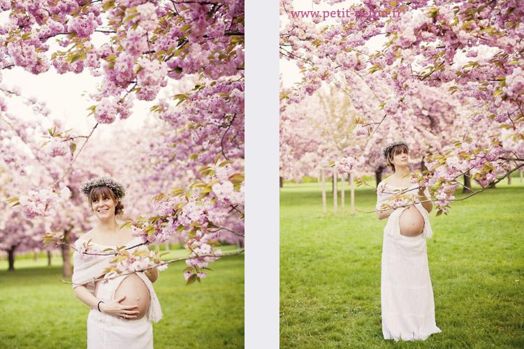 séance photo maternité au parc de sceaux et paris