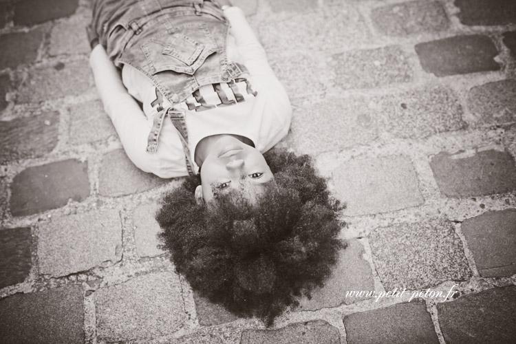 Portrait de jeune femme Paris