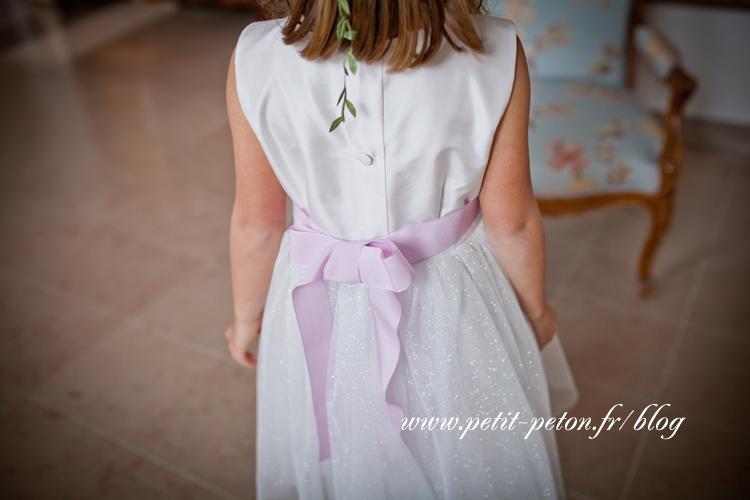 Shooting enfant vêtement de cérémonie