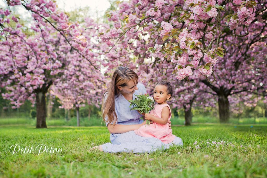réaliser séance photo en famille en extérieur