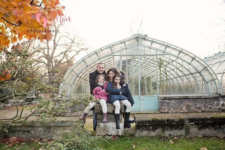 Photo de famille séance Paris