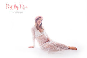 Photo femme enceinte studio paris