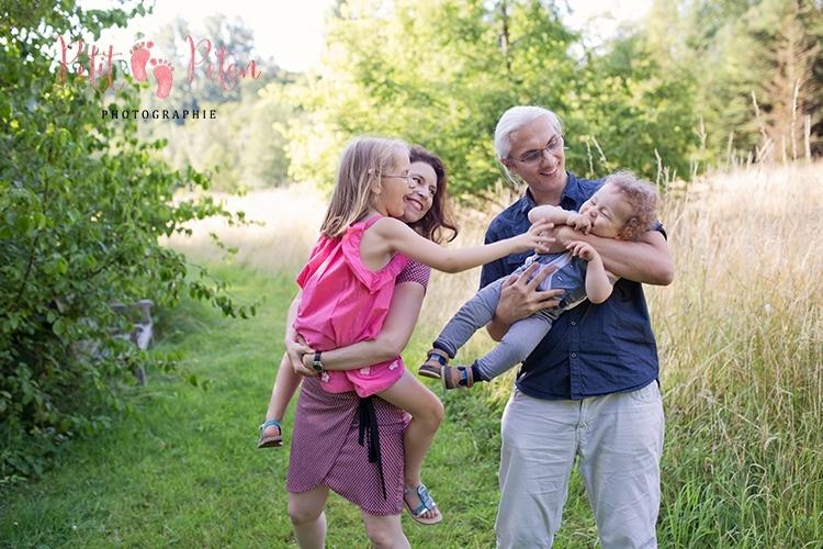 shooting photo famille extérieur