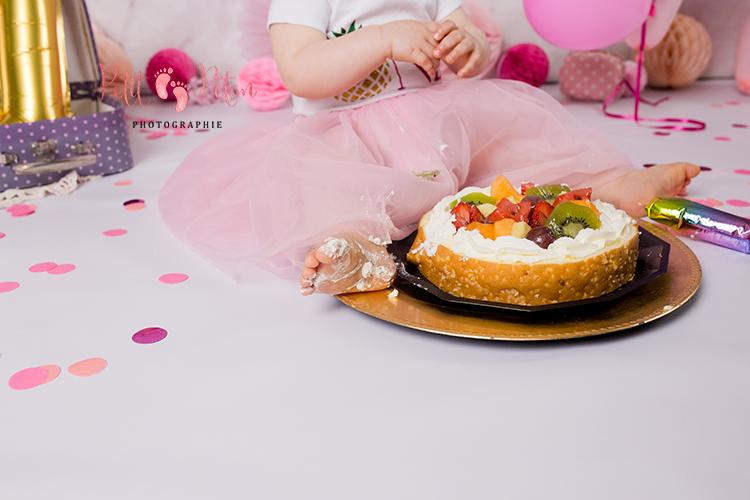 Photographe smash the cake val de marne