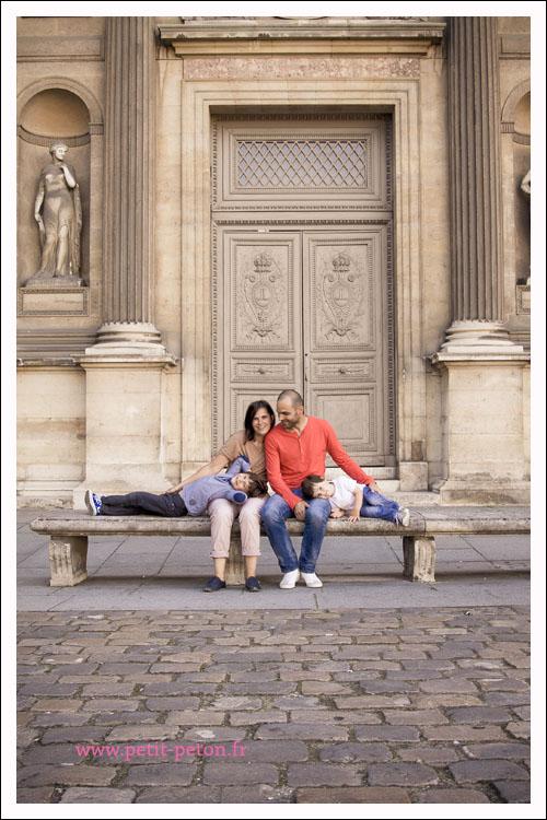 Milo et Loris : séance famille, Paris