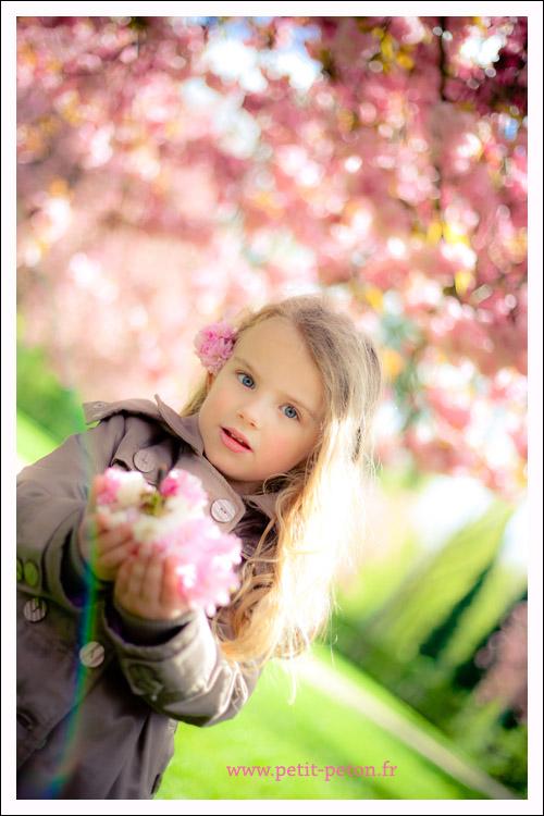 Eline : séance photos enfant, Sceaux