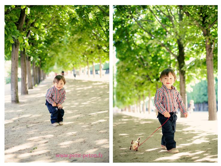 Photographe enfant lifestyle à Paris – Edgar