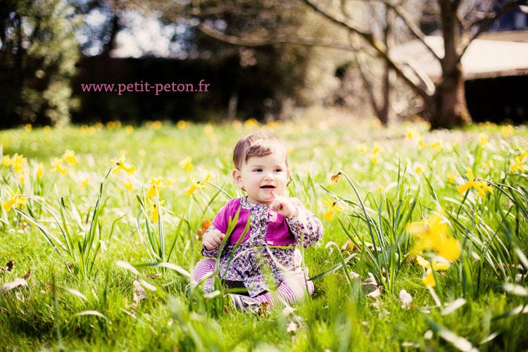 Séance photo enfant : les 1 an de Lizzie – Châtenay Malabry