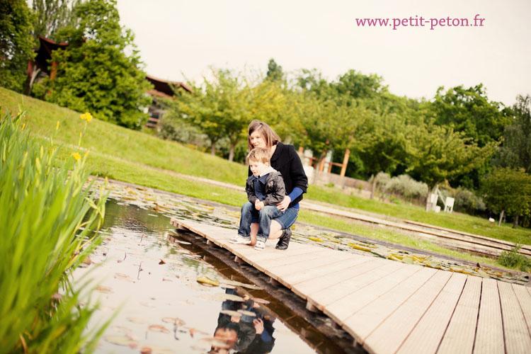 Séance photo mère-fils, Paris – Parc Floral