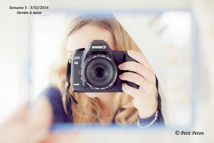 Projet 52-2014 : semaine 5 – Derrière le miroir