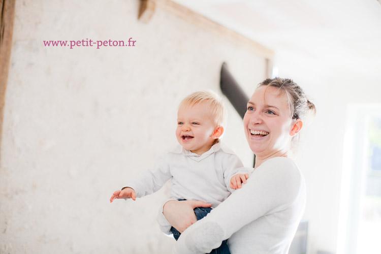 Photographe famille Blois avec Ruben