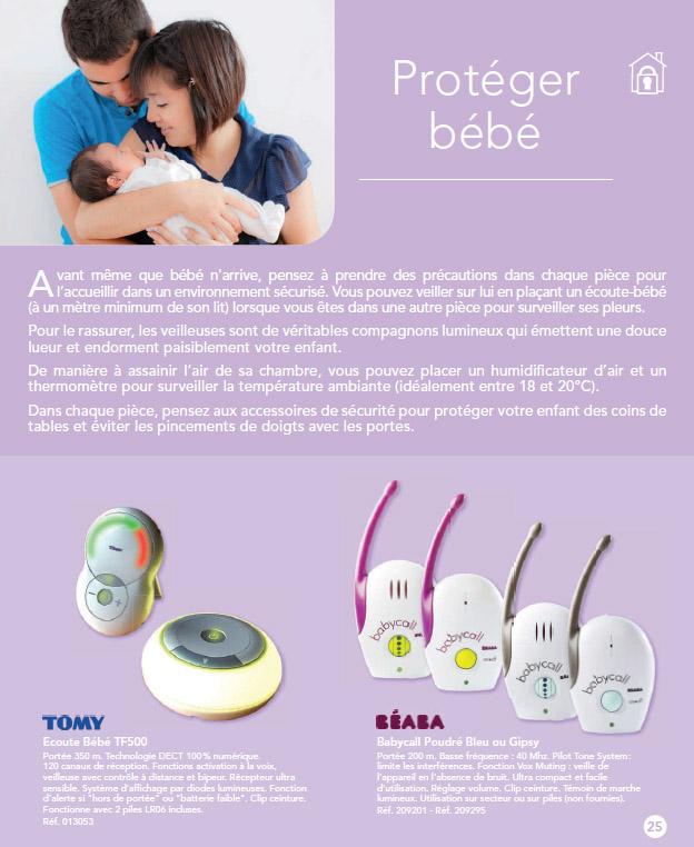 Partenariat avec Babies'R'Us et Toys'R'US et leur catalogue puériculture