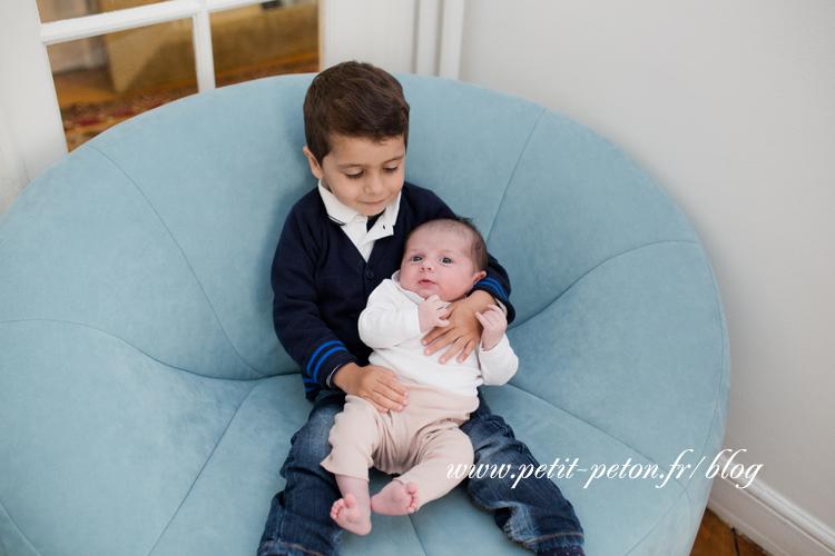 Photographe bébé Paris à domicile – Séance photo – Léa, 3 mois