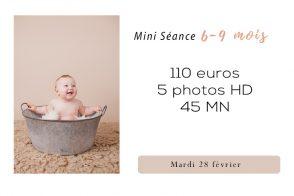seance photo 6-9 mois