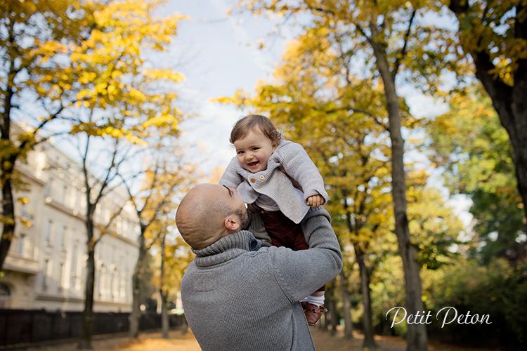 Séance photo automnale famille Paris
