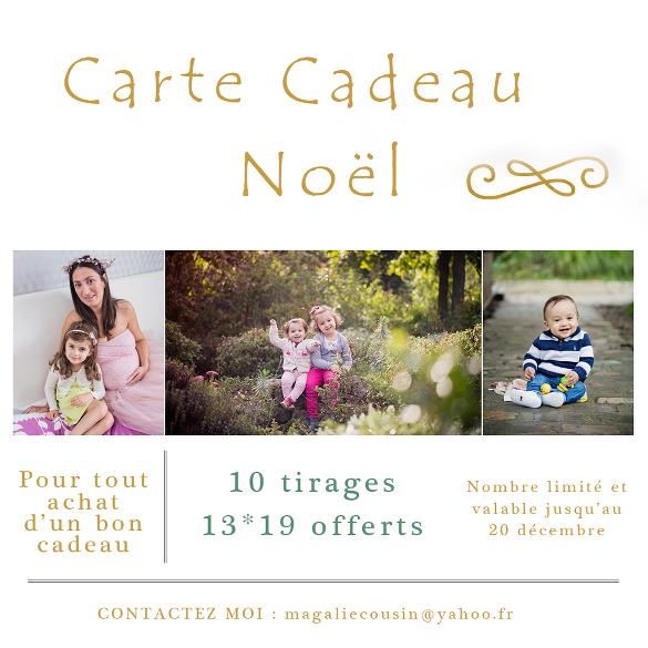 Bon cadeau séance photo Paris