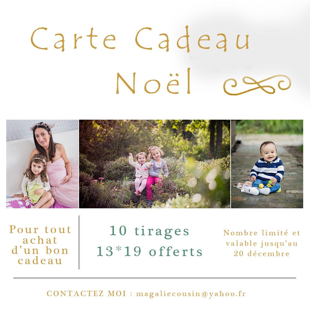 Bon cadeau séance photo Paris – Cadeau de Noël