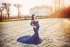 Photographe grossesse en hiver Paris