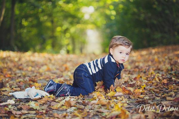 Photographe bébé Sceaux, une balade au parc