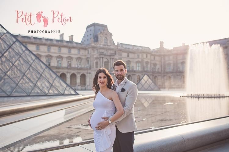 Séance photo femme enceinte Paris